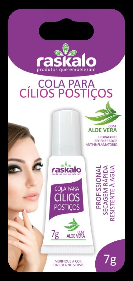 Cola para Cílios Incolor com Aloe Vera